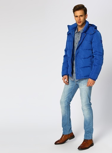 Lee&Wrangler Ceket Mavi